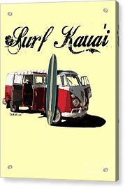 Surf Kauai Acrylic Print