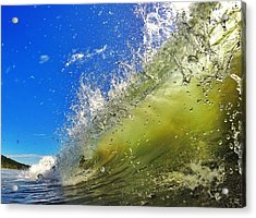 Surf Acrylic Print by Nicklas Gustafsson