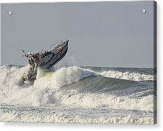 Surf Rescue Boat Acrylic Print