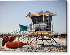 Surf Rescue Acrylic Print
