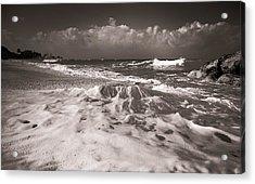 Surf Acrylic Print by Sergey Simanovsky