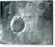 Surface Of Mars Acrylic Print by Detlev Van Ravenswaay