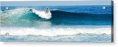 Surfer Dsc_1330 Acrylic Print by Michael Peychich