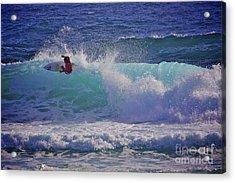 Surfer Girl 1 Acrylic Print by Heng Tan