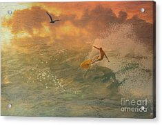 Surfers Paradise Acrylic Print by Jessie Art