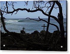Surfers Resting Grounds Acrylic Print by Brad Scott