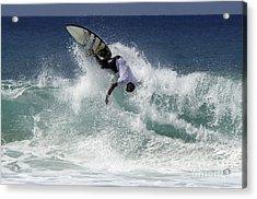 Surfing Brazil 2 Acrylic Print by Bob Christopher