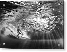Surfing God Light Acrylic Print