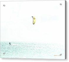 Surfing To Infinity Acrylic Print