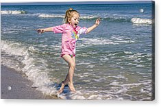 Surf's Up Acrylic Print by Rob Sellers