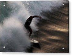 Surge Acrylic Print by John Daly