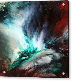 Surging Voretx Acrylic Print by Lissa Bockrath