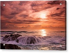 Surging Tide Acrylic Print