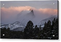 Surmounting The Dawn Acrylic Print