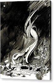 Surprise Acrylic Print by Julio Lopez