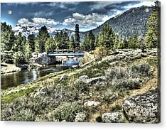 surreal Hope Valley Acrylic Print