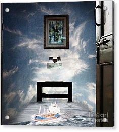 Surreal Living Room Acrylic Print by Laxmikant Chaware