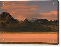Surreal Mountains In Utah #4 Acrylic Print