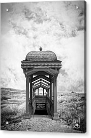 Subway Surreal Acrylic Print by Edward Fielding