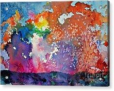 Surreal Sunset Acrylic Print by Joan Hartenstein