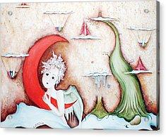 Surrealismo Interior Acrylic Print by Belen Jauregui