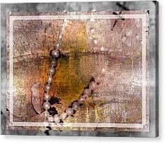 Surrender To Love Acrylic Print by Ernestine Manowarda