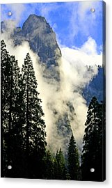 Surrounded By Clouds Acrylic Print