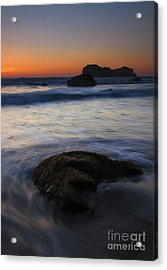 Surrounded By The Tide Acrylic Print