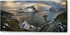Surroundings Of Offersoykamen Acrylic Print by Panoramic Images