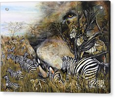 Survival Acrylic Print by Laneea Tolley