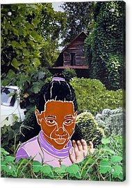 Surviving Kudzu Acrylic Print