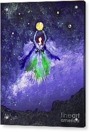 Acrylic Print featuring the painting Survivor by Alys Caviness-Gober