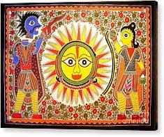 Surya Grahan Acrylic Print