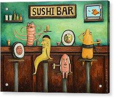 Sushi Bar Updated Image Acrylic Print