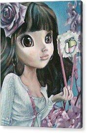 Sushi Girl Acrylic Print