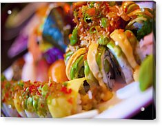 Sushi Acrylic Print by Shanna Gillette