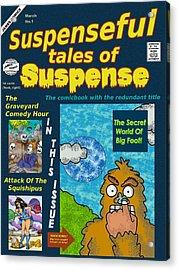 Suspenseful Tales Of Suspense No.1 Acrylic Print by James Griffin