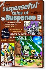 Suspenseful Tales Of Suspense No.2 Acrylic Print by James Griffin