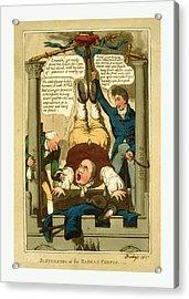 Suspension Of The Habeas Corpus, 1817 Acrylic Print