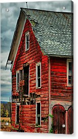 Sussex Barn  Acrylic Print
