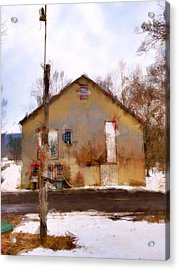 Sussex County Nj Acrylic Print by H James Hoff