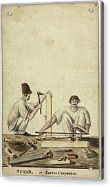 Sutar Acrylic Print by British Library