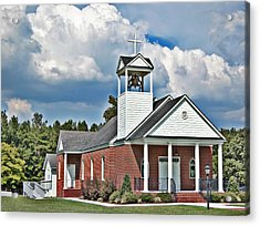 Suttons United Methodist Acrylic Print