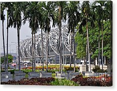 Suvarnabhumi International Airport In Bangkok Acrylic Print