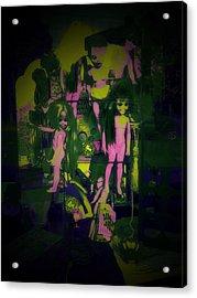 Suzy's Internalized Brooding Acrylic Print