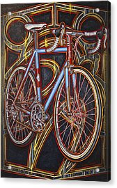 Swallow Bespoke Bicycle Acrylic Print