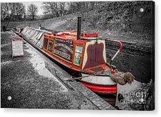Swallow Canal Boat Acrylic Print