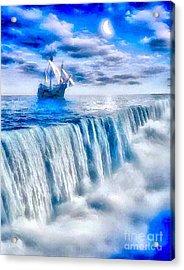 Swallow Falls Acrylic Print