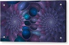 Swallow The Blue Pill Acrylic Print