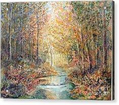 Swallows Creek Acrylic Print